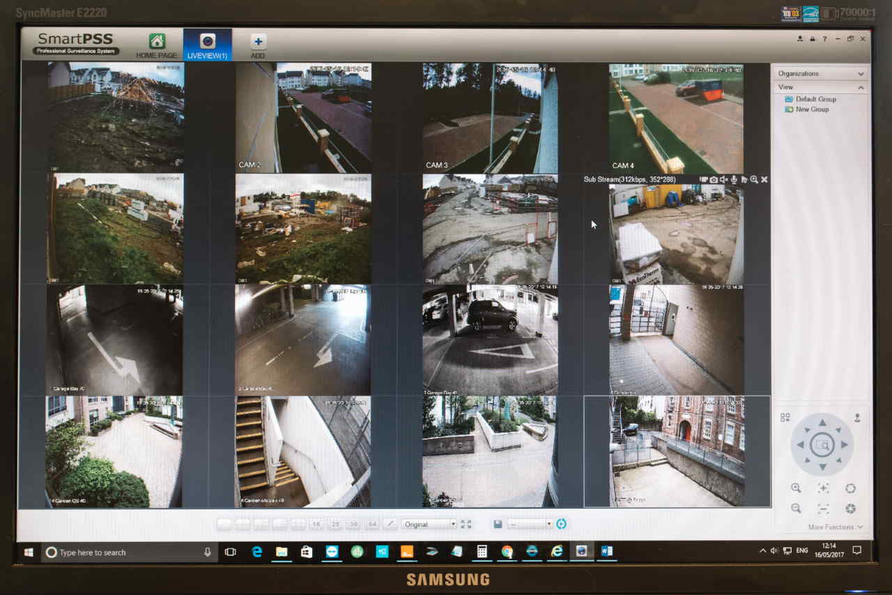 wireless CCTV monitoring by Safe Simple Secure