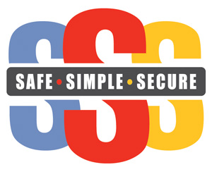 Safe Simple Secure Logo