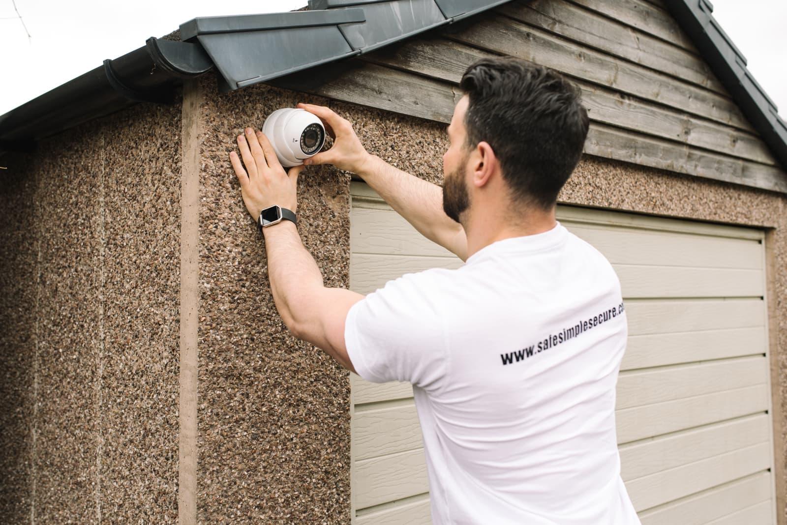 CCTV installation edinburgh