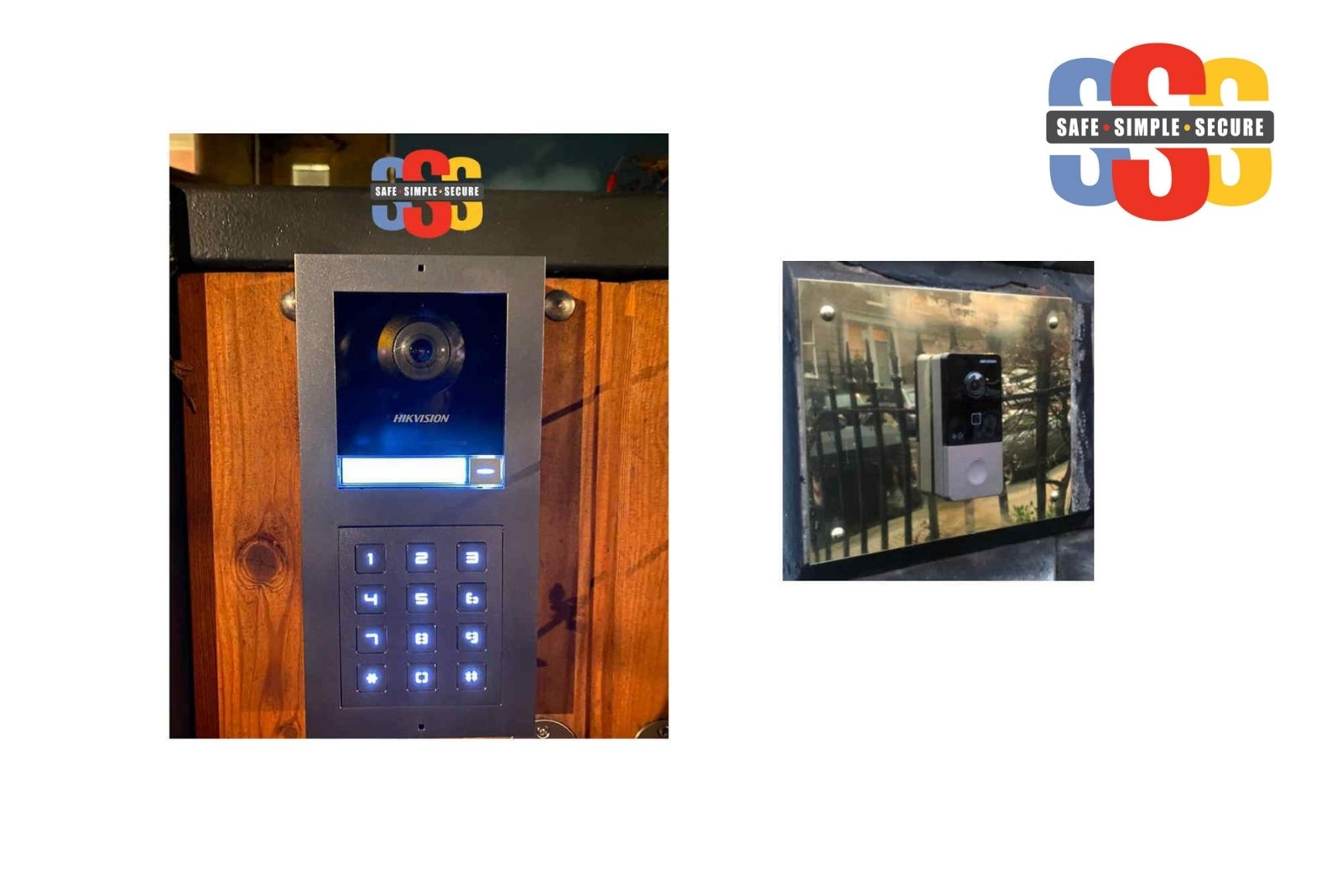 Safe Simple Secure's video door entry systems