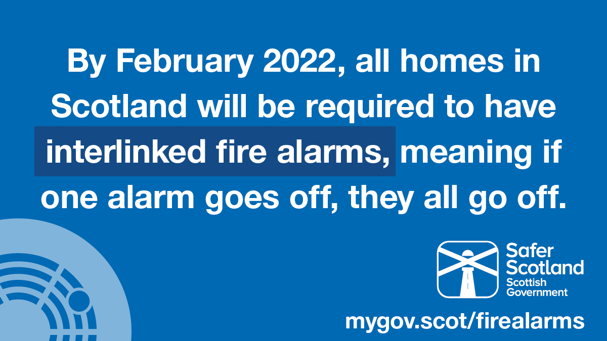 Scottish home fire alarm law